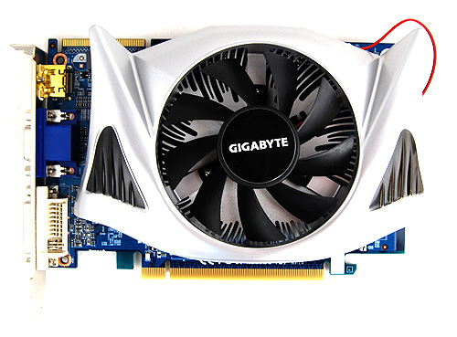 The Gigabyte HD 5670 has a very odd looking custom cooler. We are not quite sure what to make of it, but it does look somewhat like a bat.