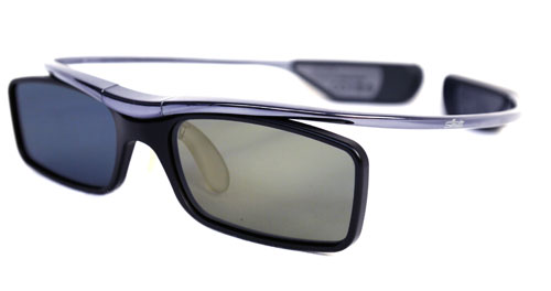 Active-shutter glasses have been downsized and streamlined over recent times too. Like Samsung's SSG-3700CR, which embodies a lighter and more fashionable profile. Glasses such as these are also rechargeable via USB as well, which makes them more practical than older models depending on flat-cell batteries.