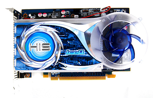 HIS has kept the design of the IceQ cooler on this card similar to the ones being employed on their Radeon 4000 series cards.