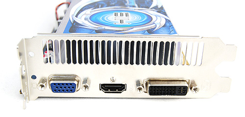 HIS has opted for the same trio of HDMI, VGA and DVI ports for their Radeon HD 5670 IceQ.