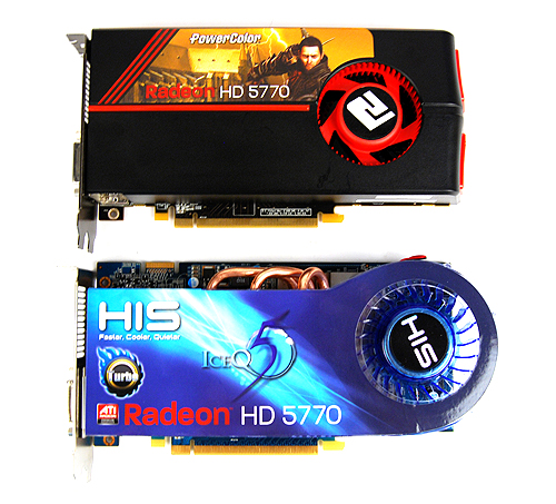 The HIS HD 5770 IceQ 5 Turbo looks very much like any other HIS card employing their unique IceQ coolers.