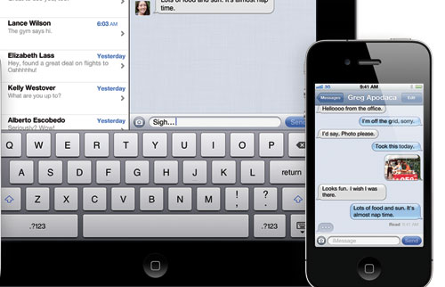 A BlackBerry Messenger killer, the iMessage is not. But it is a great way to unify communications across various iOS devices.