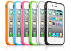 The iPhone Bumper casing is probably the first thing you should get for your iPhone 4.