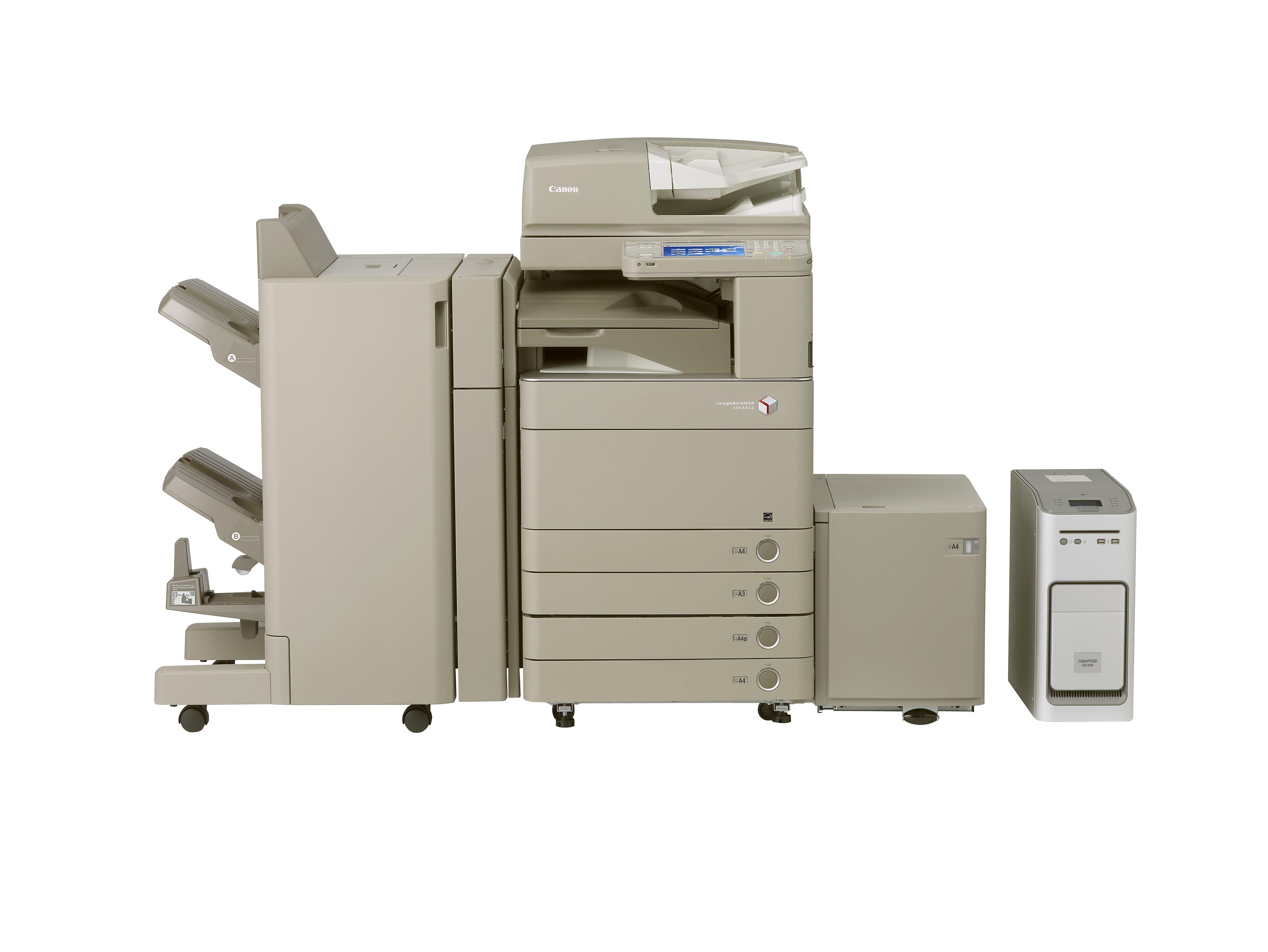 A one-stop shop for your office documenting needs, the Canon imageRunner Advance C5051 is efficient and accessible by multiple users from anywhere in the office.
