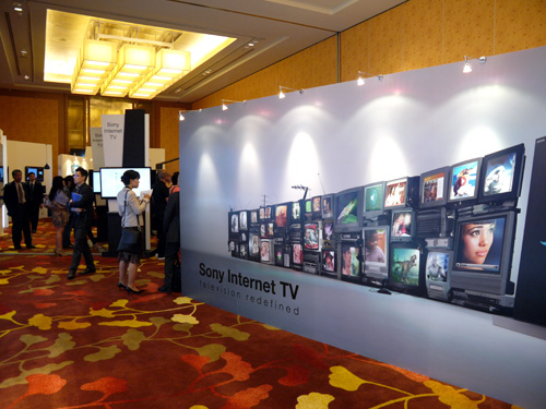 "At the heart of Sony's ""Inspiring Innovation"" launch is a common theme revolving around 3D features and Internet connectivity. Although Sony is still ironing some issues with Google (thus no Google TV), rest assured that Internet entertainment is here to stay on most of the new BRAVIA HDTVs."