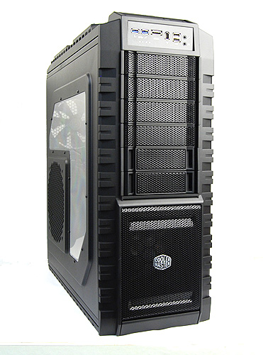 The HAF X is Cooler Master's flagship HAF casing and it boasts some delightful features that'll we be taking a look at shortly.