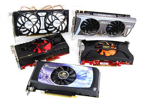 Vendors are banking on the popularity of the GeForce GTX 460 and are coming up with their own customized versions.