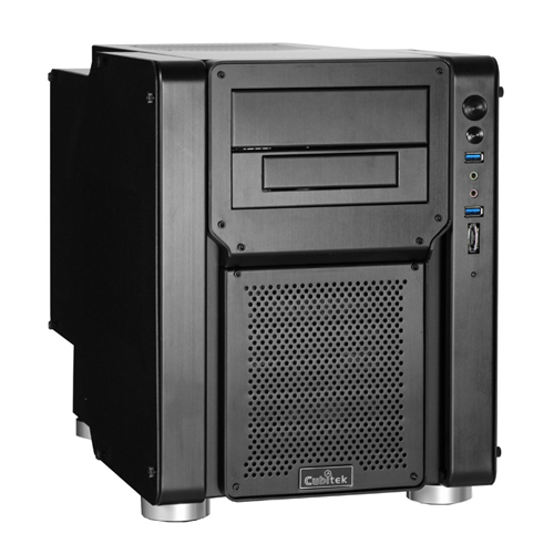 The Cubitek Mini-Tank is a specialty case built for Mini-ITX board owners who want a gaming grade casing.