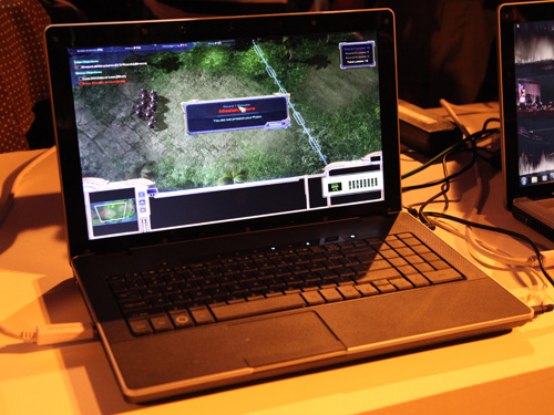 Intel's technical demo of an Ivy Bridge laptop running Starcraft 2. It does not seem like much, but it shows that the processor is more or less ready for launch later this year.