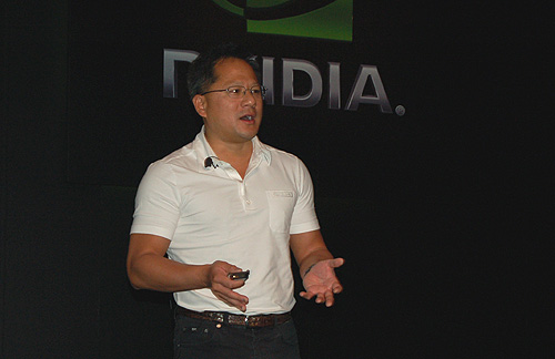 Here's NVIDIA CEO, President and Co-founder Jen-Hsun Huang talking about how 3D is going to drive the graphics industry.