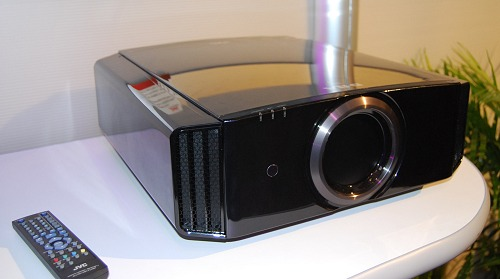 The JVC DLA-X9 is the world's first 3D THX certified front projector powered by tri-chip full HD D-ILA technology. It's not new for CES, but we couldn't resist highlighting it.
