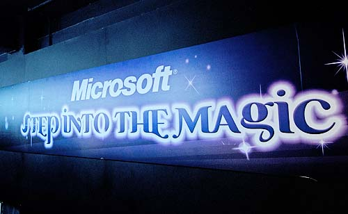 Magic with no magician around? Oh wait, Microsoft's letting you play without a physical controller. Now that's magic.