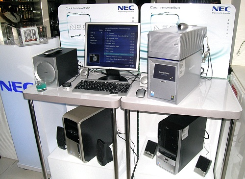 NEC launched two PowerMate series, the PowerMate MT and PowerMate DL, but the main event was the introduction of the PowerMate DL T8000 w water-cooled wonder in a box.