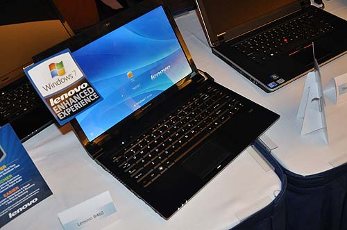 Also new and looking pretty is the Lenovo IdeaPad B460 that's aimed at the average consumer, and will be available from July 2010. No word on the pricing yet though.