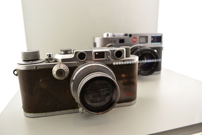 Leica enthusiasts will get a kick out of seeing the older models on show.