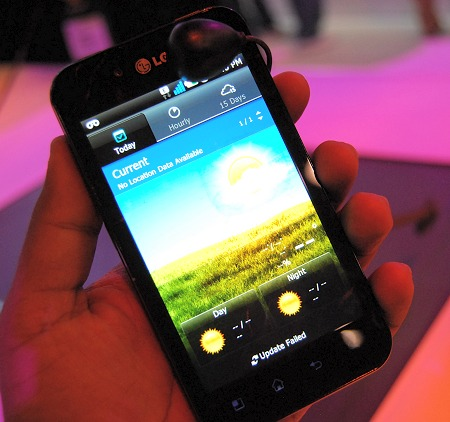 LG Booth: Mobile Phones : CES 2011: Show Floor Coverage (Part 6