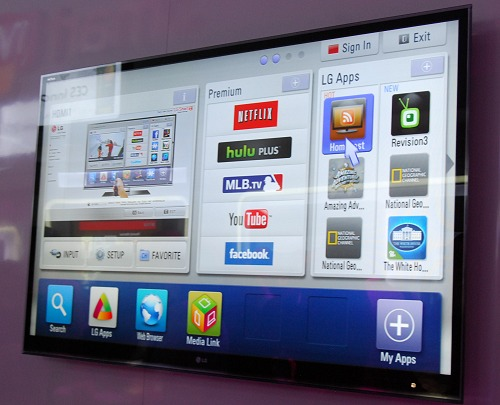 Also introduced this year is Smart TV which is a platform providing access to thousands of movies, customizable apps, videos and the ability to browse the internet effortlessly. Endless entertainment options are also supported by these providers:- VUDU, Netflix,YouTube, CinemaNow, Hulu Plus, Amazon Video on Demand and Live Streaming Sports (multiple partners). LG SmartTV is available on a range of LG's new HDTVs, including: LK530, LV3700, LV5500, LW5600, LW6500, LW7700, LW9500, LZ9700, PZ750 and PZ950.