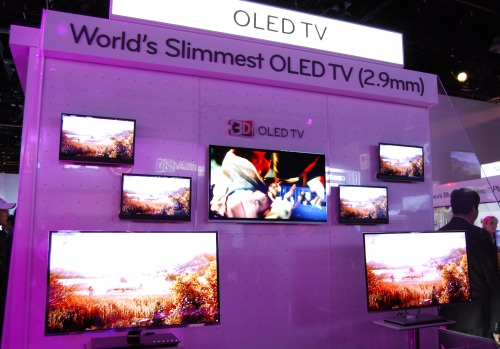LG's got a knack with being the world's thinnest for various products, including products that aren't in mass retail like these new OLED TVs.