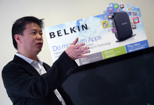 Belkin has already established itself as the number one provider for iPod and iPad accessories, according to Mr Lye. In the networking field, the company is turning its attention on delivering simple yet efficient tools for consumers.