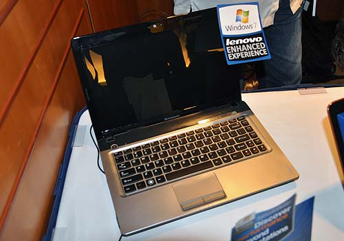 The new 14-inch Lenovo IdeaPad Z460 starts from S$1599 and is aimed at the high end luxury consumers with its metallic looks and multimedia functions.