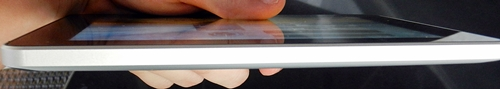 The Huawei MediPad is the company's slimmest tablets, measuring in with a thickness of only 10.5mm.