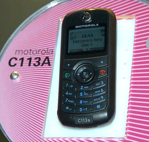 The C113A is another low-cost handset made for the markets with low mobile phone penetration.