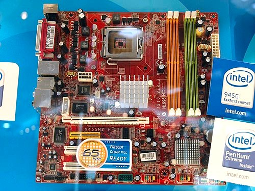 The MSI 945GZM2 is based on the new Intel 945GZ integrated graphics chipset and it comes with standard features like SATA II, USB 2.0 and PCI Express. An ideal solution for business and small form factor PCs.