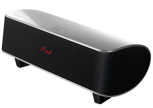 The new Pioneer XW-NAS5 iPod audio system combines an iPod dock, FM receiver and optional wireless music streaming into a neat package.