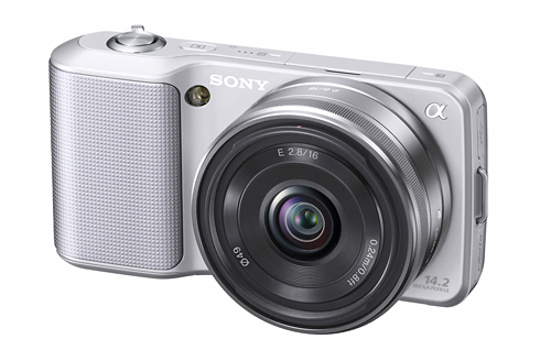The Sony Alpha NEX-3 won both the Reader's Choice and Editor's Choice awards.