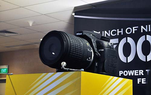 What's a launch event without a giant camera unveiling?