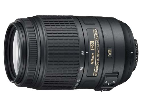Made for their DX cameras is this AF-S DX Nikkor 55-300mm f/4.5-5/6G ED VR, which will retail at S$599. Use this if you want to shoot at far away objects!