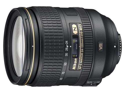 If you got the S$1999, then the AF-S Nikkor 24-120mm F/4G ED VR should do nicely.