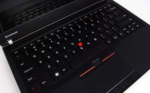 The keyboard has been redesigned to what Lenovo calls an isolation keyboard, with individual keys instead of the usual ThinkPad design.