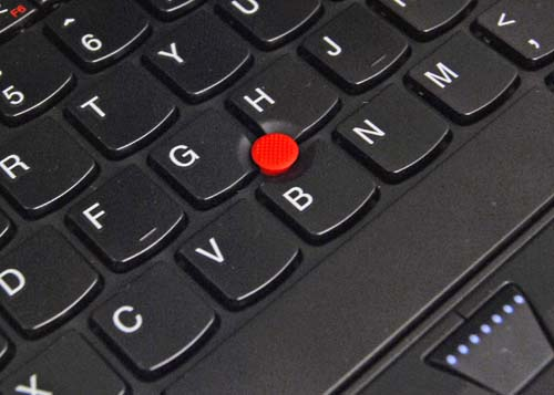 A redesign also means the area around the trackpoint gets tweaked too.