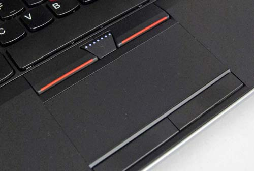 [While the keyboard has been tweaked, the trackpad remains pretty much the same.]