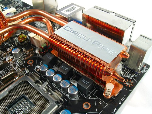 The rear heatsink seems to be the main cooling block for the whole system, so it would have to depend on your CPU cooler to provide it sufficient exhaust air flow.