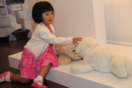 The Paro therapeutic robot is not only therapeutic, but extremely popular with children as well.