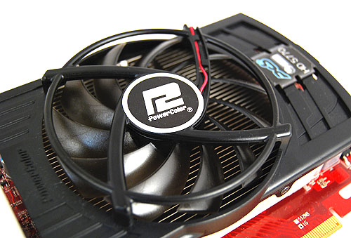 Nothing fancy about the PCS+ cooler here. Just a huge fan on what seems to be a soundly designed heatsink.