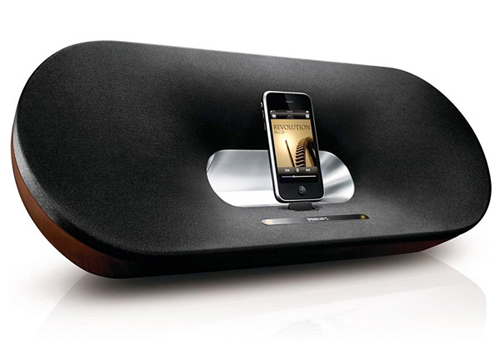 The Philips Fidelio Primo DS9000 is our best speaker docking system.
