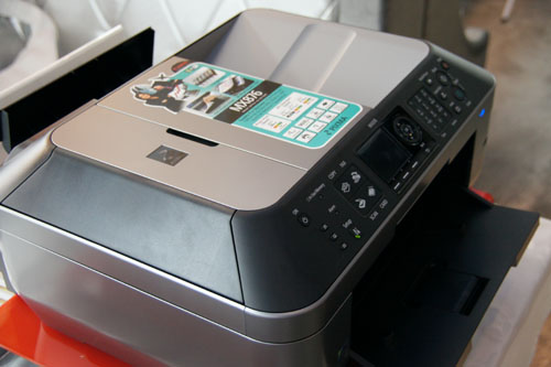 The PIXMA MX876 is the new Canon flagship AIO inkjet.
