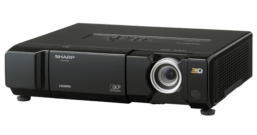 Sharp isn't pandering to the 3D TV market alone. Home theater fans can also look forward to the 3D-capable XV-Z17000 projector which offers a 1,600 Lumens brightness and maximum projection distance of 15.7m.