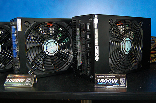 Silverstone's Strider Plus series of PSUs are certified Silver by 80 Plus and comes in a variety of ratings.