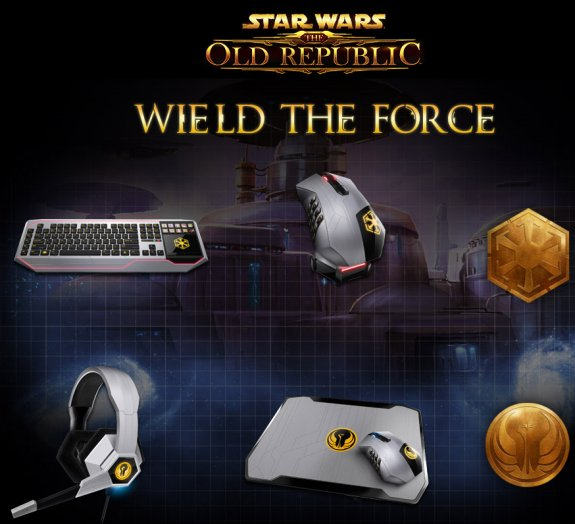 Razer partners with BioWare and LucasArts to introduce Star Wars: The Old Republic gaming peripherals.