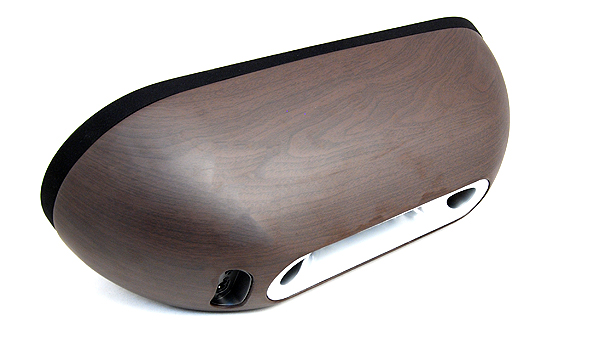 The curved back of the Fidelio feels sturdy, and dare we say it, rather sexy.
