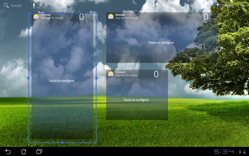 We find it useful to be able to resize the widgets according to our preferences and needs.