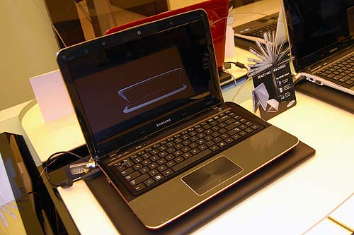 The Samsung NF210 netbook.