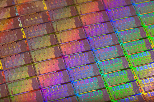 Intel's next generation Sandy Bridge manufactured on Intel's 32nm process technology with high-k metal gate transistors.