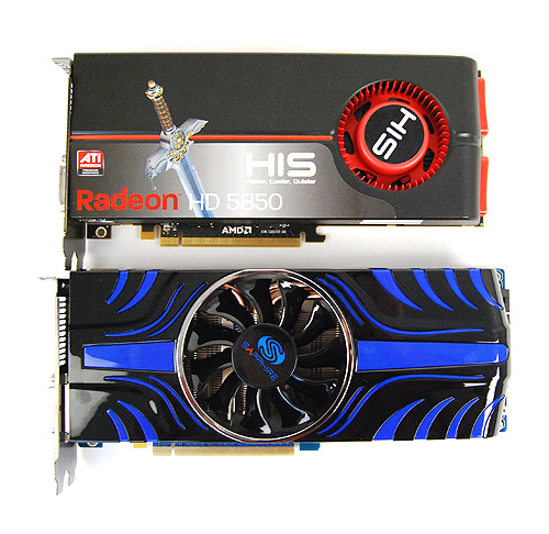 Like the ASUS and PowerColor cards, the Sapphire HD 5850 Toxic Edition is also slightly larger than a reference Radeon HD 5850. Also, the blue and black color scheme is rather groovy.