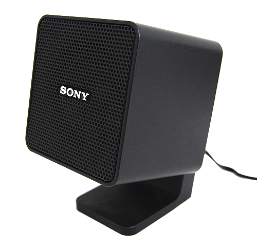 Each satellite speaker features a 50mm mid-range driver and has a rated output power of 10W.
