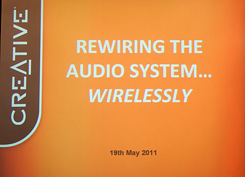 Rewiring Wireless Audio? How does Creative intend to achieve that?